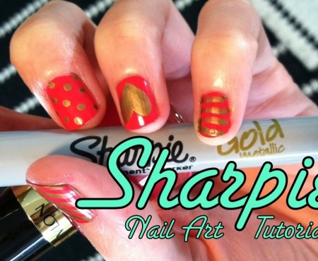 Sharpie Nail Art Tutorial