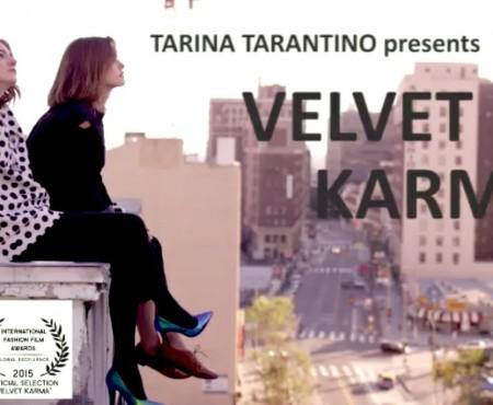"""Tarina Tarantino """"Velvet Karma"""" :: Bailey Noble & Emily Mest by Alfonso Campos"""
