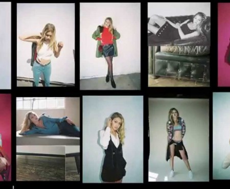 Topshop Autumn Winter 2015 Line :: Gigi Hadid