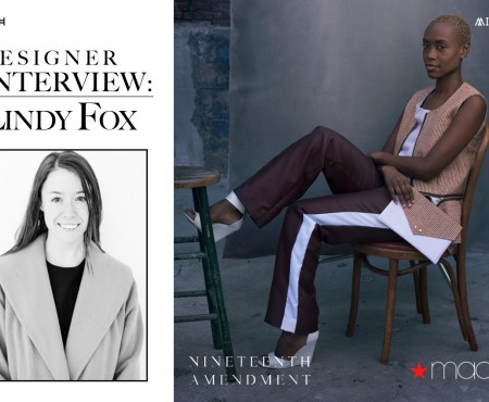 Designer Interview: Lindy Fox with Nineteenth Amendment