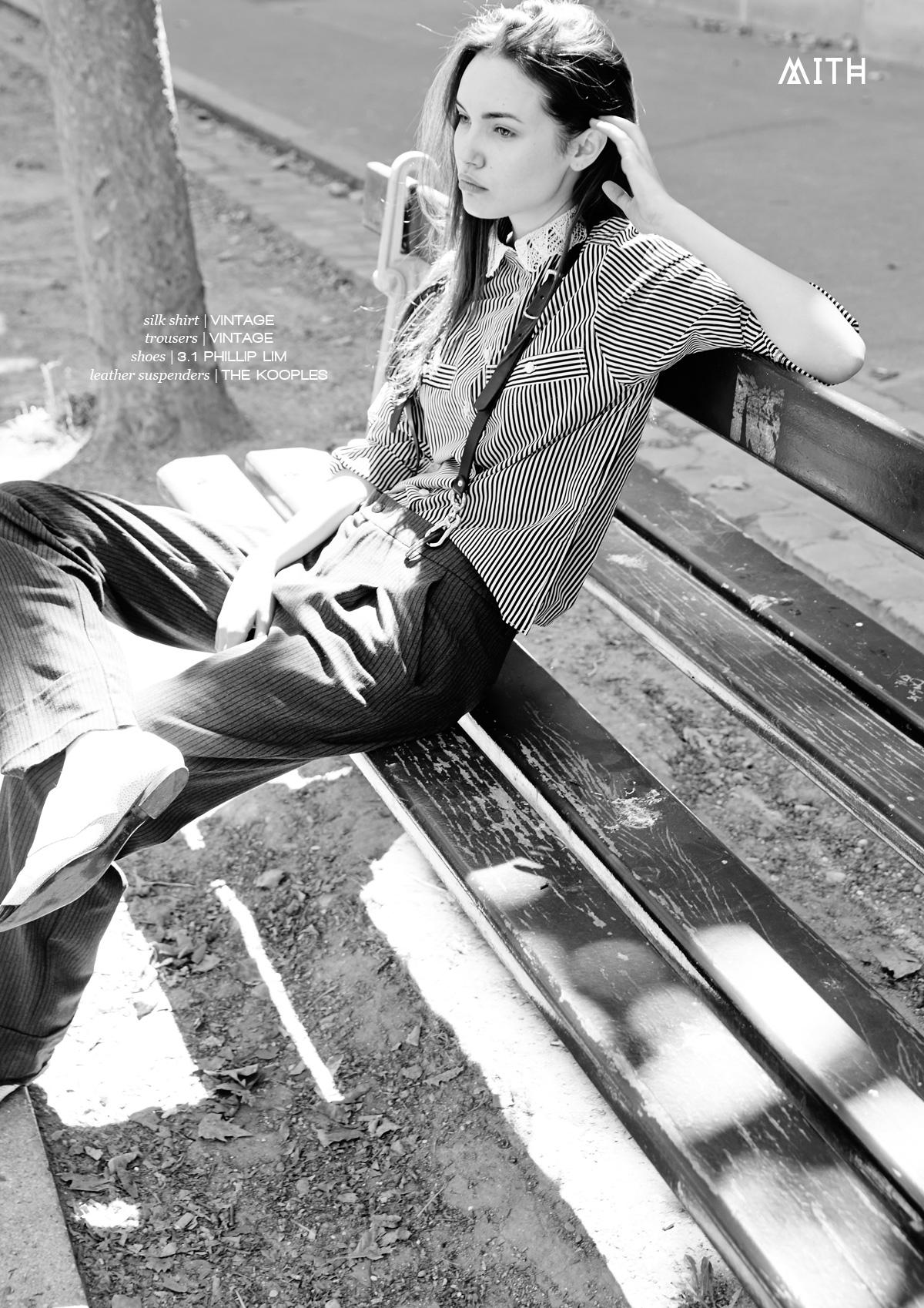 MITH Fashion Editorial - Time for School :: Margaux Brazhnyk @ Star System Models by Nicolas Le Forestier