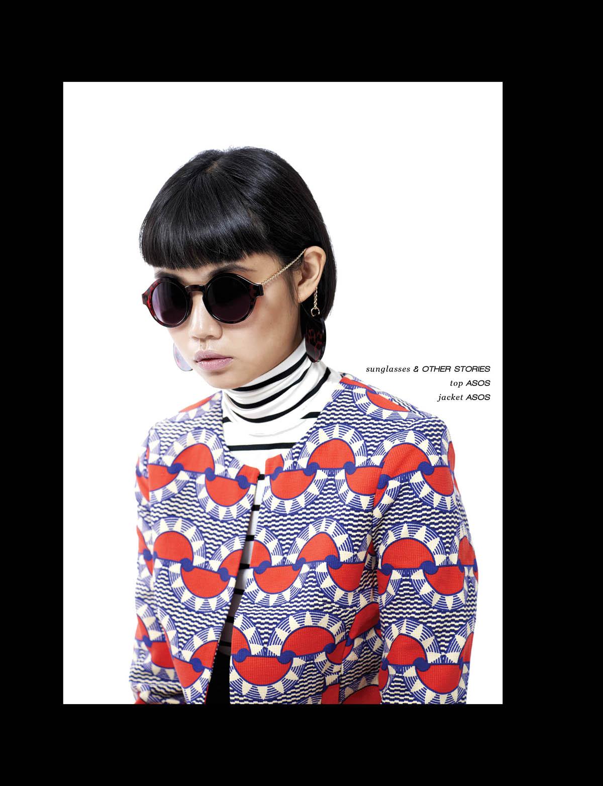 """Clash"" :: Grace Ming @ M+P Models by Anne Laymond"