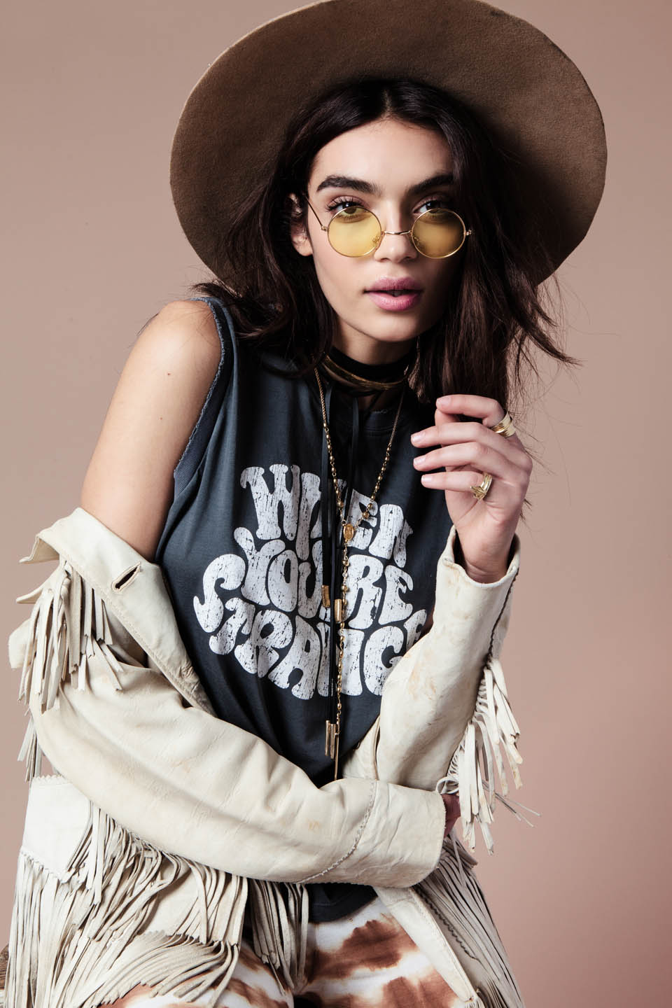 "MATE the Label ""When You're Strange"" F/W '15 Lookbook :: Rubina Dyan by Bryan Carr"