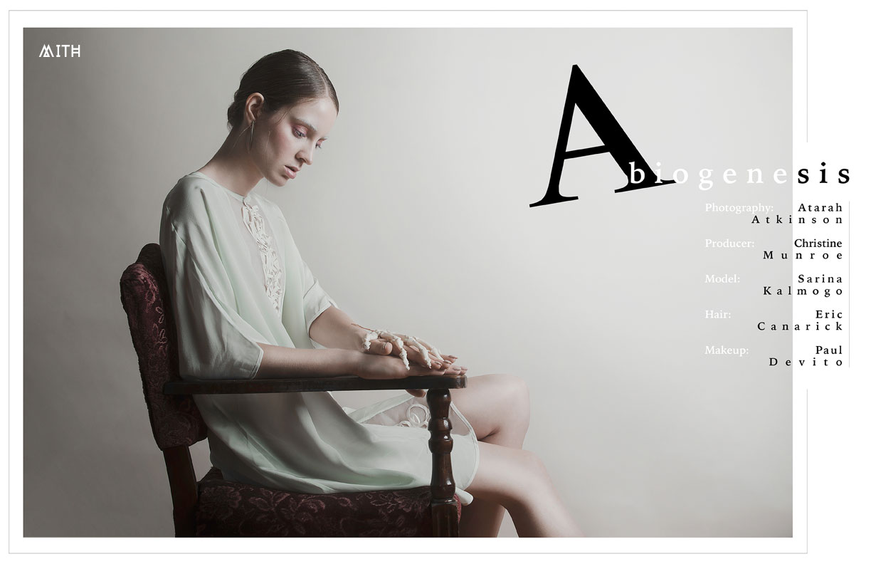 MITH Abiogenesis Fashion editorial :: Sarina Kalmongo by Atarah Atkinson