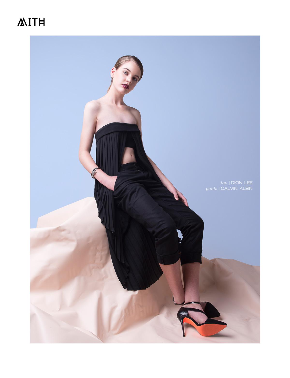 """Blush"" :: Issie Knight x Emma Petrie @ Chadwick Models by Carmen Rose"