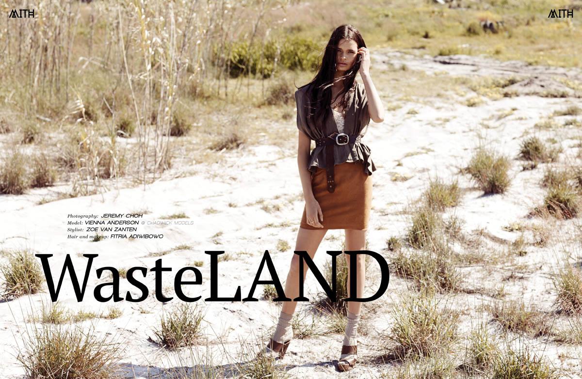 """""""Wasteland"""" :: Vienna Anderson @ Chadwick Models by Jeremy Choh"""