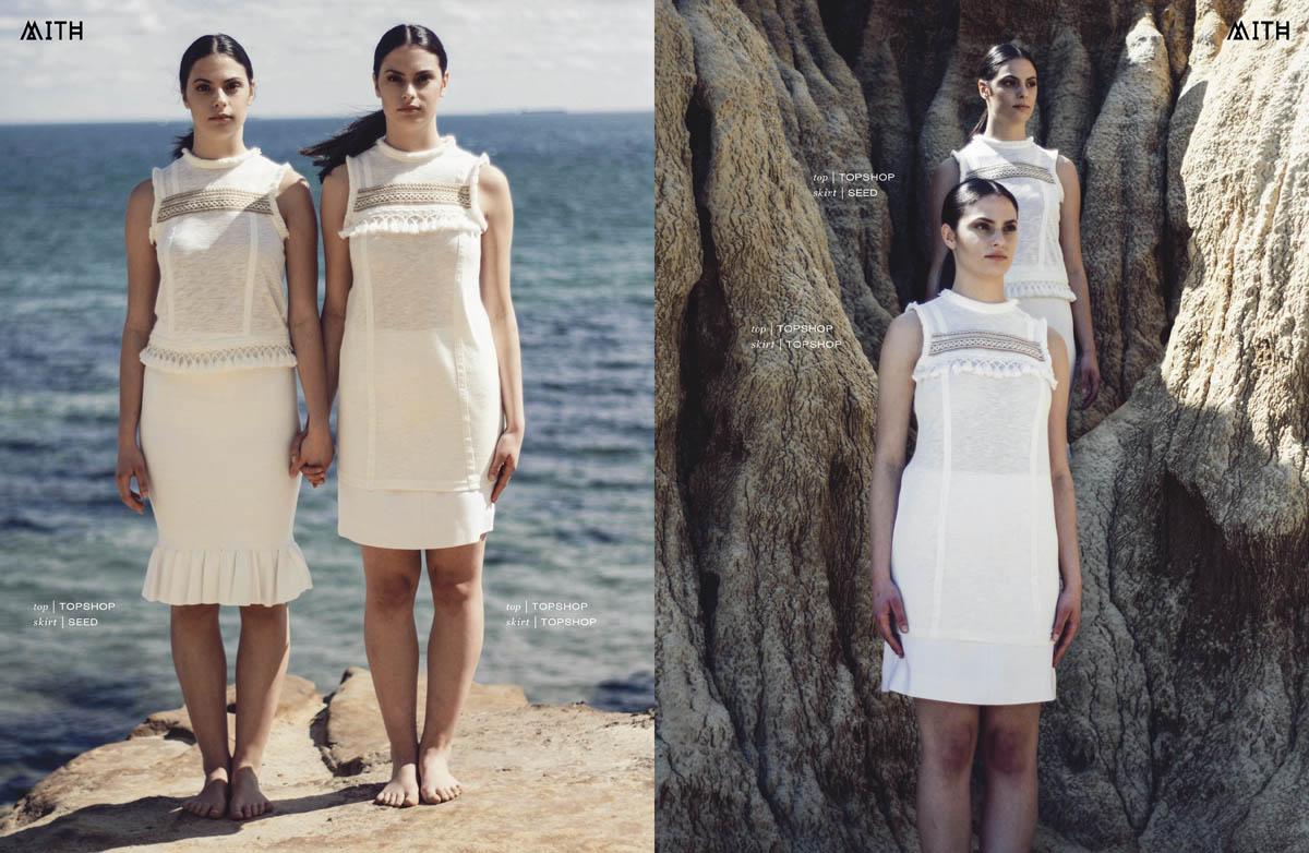 """Same But Different"" :: Nevena & Milena Andric by Drazena Krstic"
