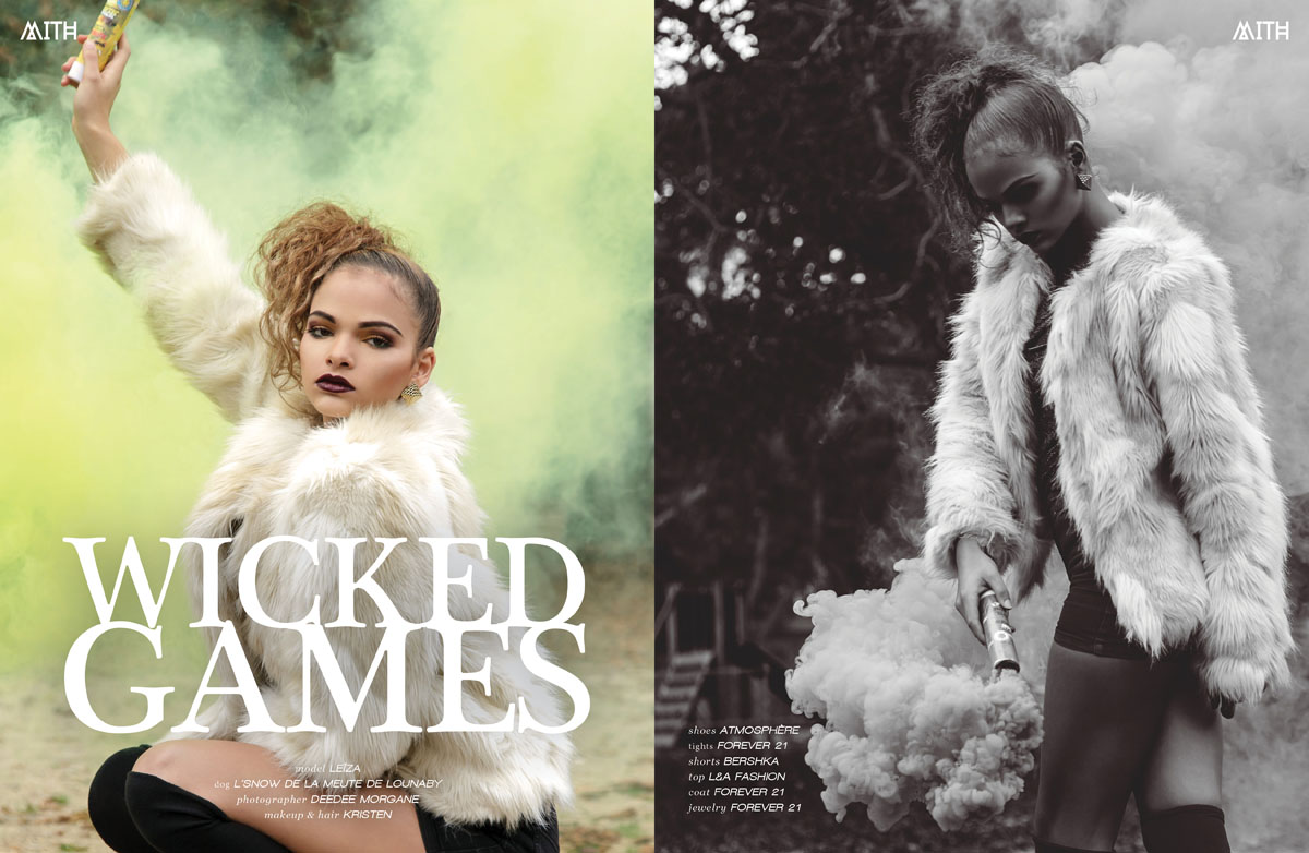 """Wicked Games"" Fashion Editorial :: Leïza by Deedee Morgane"