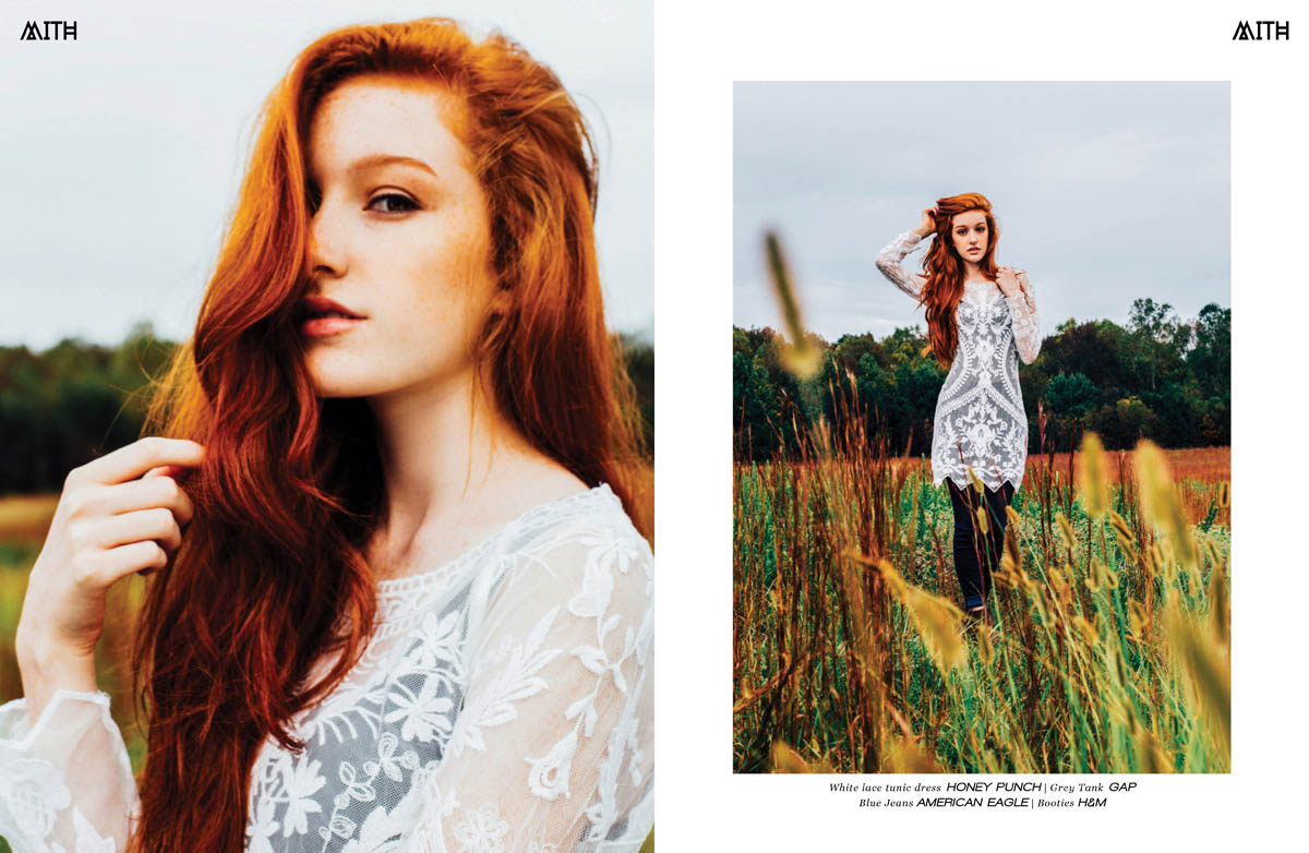 """Wildflower"" :: Morgan Hudgins @ Salt Model & Talent by Blake Ballard"
