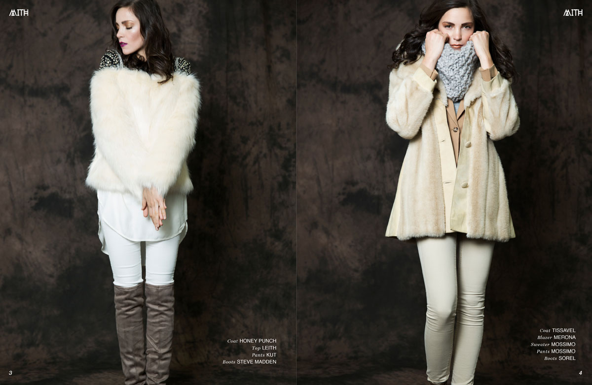 """First Frost"" Winter Fashion Editorial :: Nata Sarafinchan X Ranga Duvvuri @Option Model and Media by Kendra Barber"