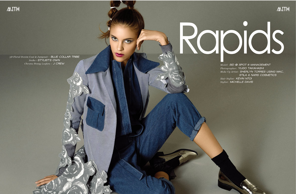 """Rapids"" Fall Fashion Editorial :: Sid by Yugo Takahashi"