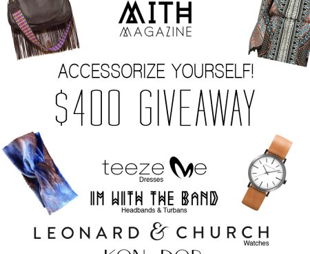 $400 Accessorize Yourself Giveaway Contest! Handbags, Watches, Headbands, & Dresses