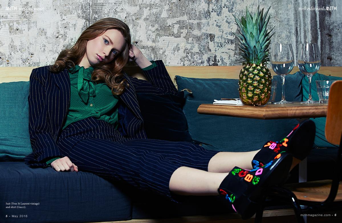 """Salt, Please!"" Fashion Editorial :: Agnieszka Kopyt by Anaïs Da Silva"