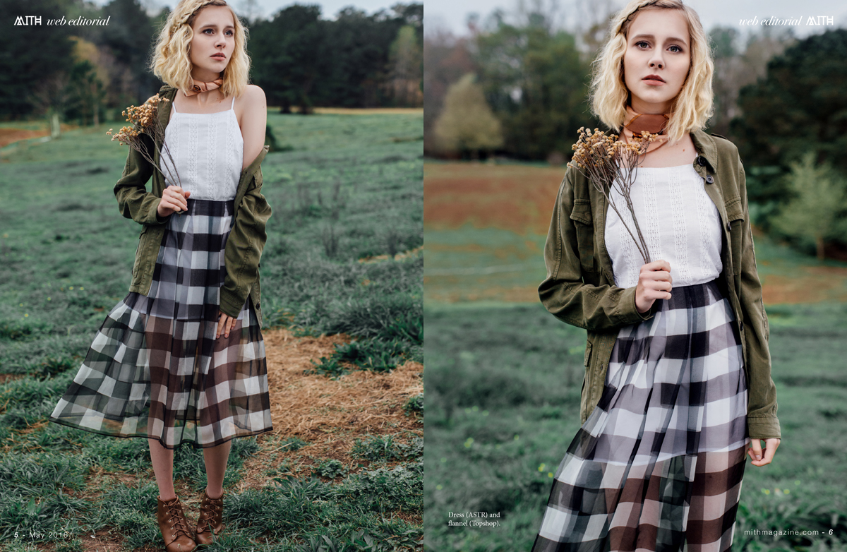 """Wild Flower"" :: Isa Henderson Fashion Editorial by Haley Tetreault"