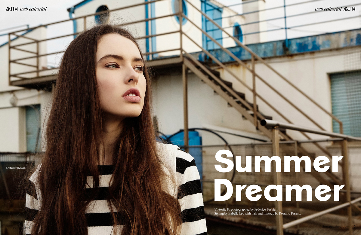 """Summer Dreamer"" Hipster Fashion Editorial :: Viktoriia by Federico Barbieri"