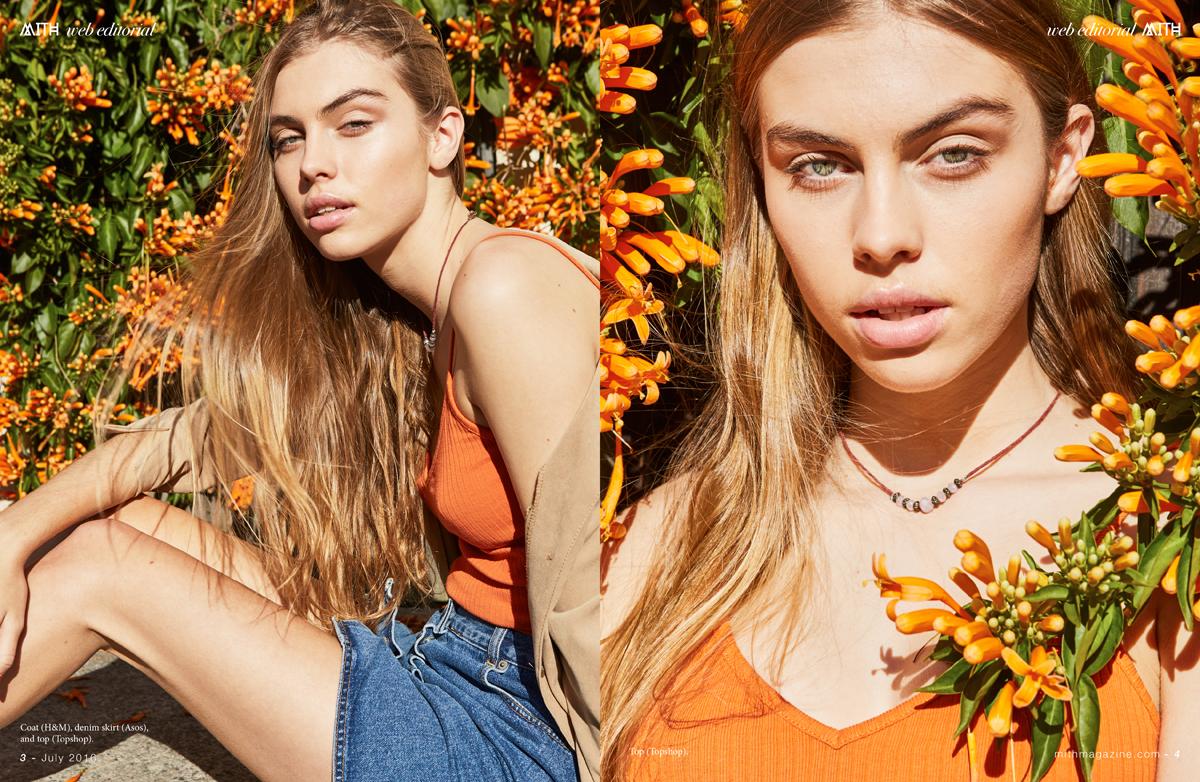 """Golden Daze"" Fashion Editorial :: Ruby Rose by Monica Pronk"