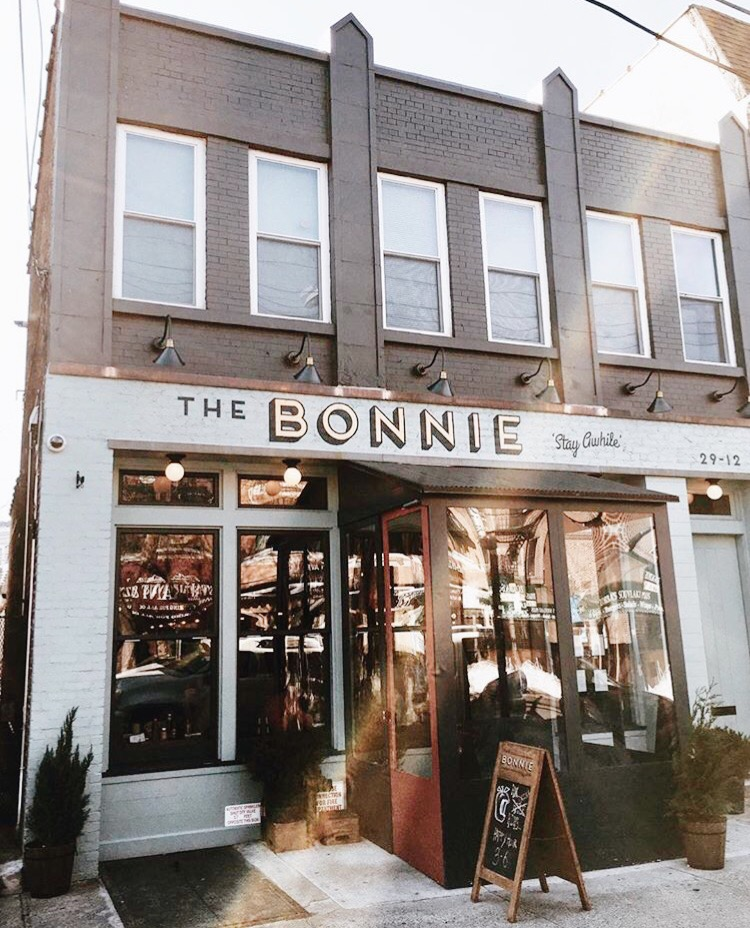 The Bonnie NYC instagram coffee shop