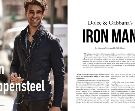 Interview: Jon Hippensteel, Dolce & Gabbana's Iron Man