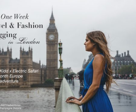 Jamie Kidd #MITHadventures: One Week Travel & Fashion Blogging in London