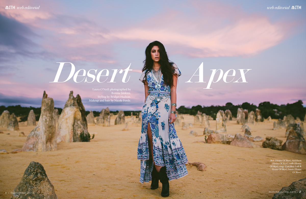"""Desert Apex"" :: Laura O'Neill by Bonnie Jenkins"