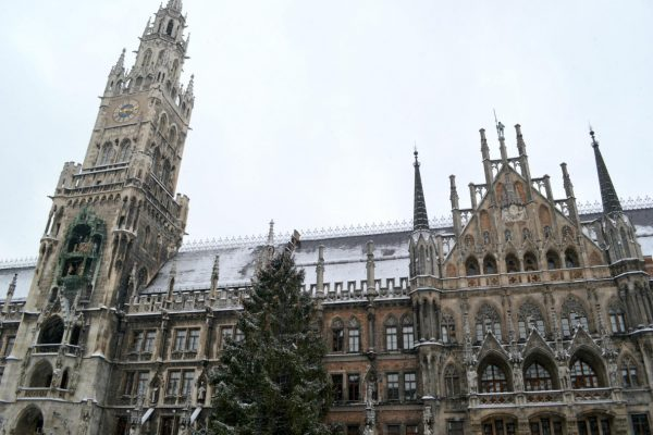 Ideal Afternoon in Marienplatz by Morgan Holcomb
