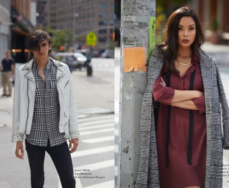 """Manhattan Stroll"" :: Ilima and Johnny by Nicholas Borsodi"