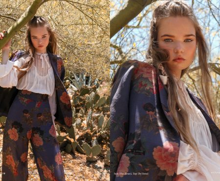 """I Dream of Florals"" :: Anett Oun by Liza Boone"
